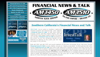 Click here to access Financial News & Talk