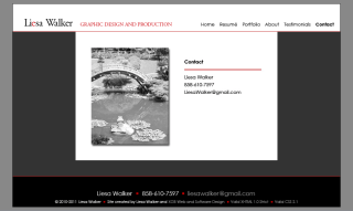 Click here to access Liesa Walker Graphic Design and Production